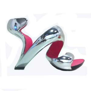 Mojito Shoes, chrome et fuschia